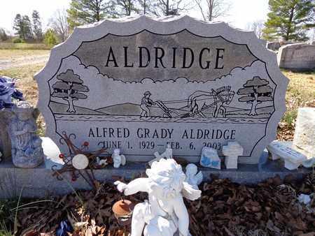 ALDRIDGE, ALFRED GRADY - Lawrence County, Tennessee | ALFRED GRADY ALDRIDGE - Tennessee Gravestone Photos