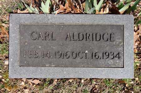 ALDRIDGE, CARL - Lawrence County, Tennessee | CARL ALDRIDGE - Tennessee Gravestone Photos