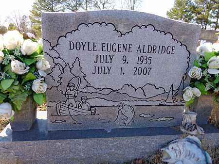 ALDRIDGE, DOYLE EUGENE - Lawrence County, Tennessee | DOYLE EUGENE ALDRIDGE - Tennessee Gravestone Photos
