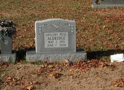 ALDRIDGE, GREGORY NEAL - Lawrence County, Tennessee | GREGORY NEAL ALDRIDGE - Tennessee Gravestone Photos