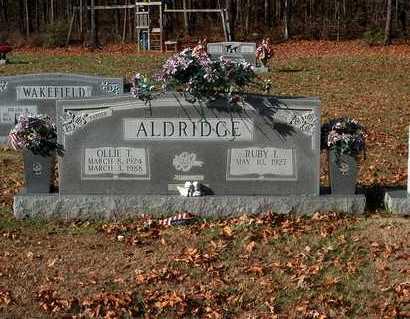 ALDRIDGE, RUBY L. - Lawrence County, Tennessee | RUBY L. ALDRIDGE - Tennessee Gravestone Photos