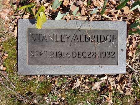 ALDRIDGE, STANLEY - Lawrence County, Tennessee   STANLEY ALDRIDGE - Tennessee Gravestone Photos