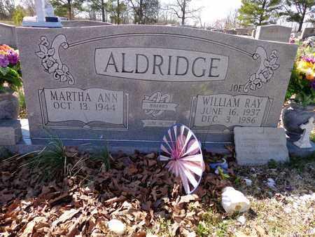 "ALDRIDGE, WILLIAM RAY ""JOE"" - Lawrence County, Tennessee   WILLIAM RAY ""JOE"" ALDRIDGE - Tennessee Gravestone Photos"