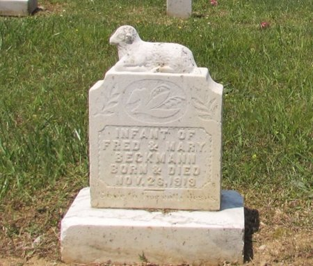 BECKMAN, INFANT - Lawrence County, Tennessee | INFANT BECKMAN - Tennessee Gravestone Photos