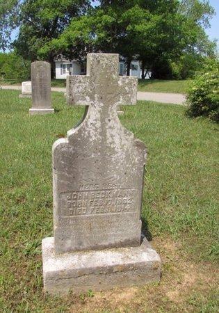 BECKMANN, JOHN - Lawrence County, Tennessee | JOHN BECKMANN - Tennessee Gravestone Photos