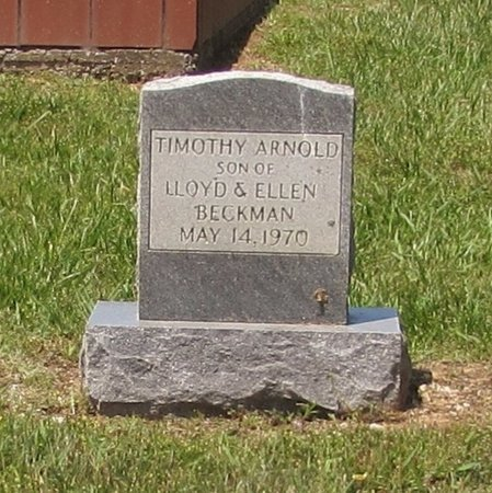 BECKMAN, TIMOTHY ARNOLD - Lawrence County, Tennessee   TIMOTHY ARNOLD BECKMAN - Tennessee Gravestone Photos