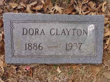 CLAYTON, DORA - Lawrence County, Tennessee | DORA CLAYTON - Tennessee Gravestone Photos