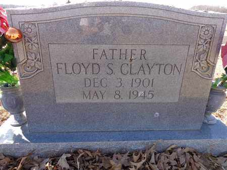 CLAYTON, FLOYD S. - Lawrence County, Tennessee | FLOYD S. CLAYTON - Tennessee Gravestone Photos