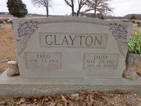 CLAYTON, DAISY - Lawrence County, Tennessee | DAISY CLAYTON - Tennessee Gravestone Photos