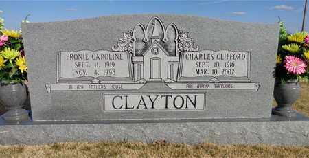 CLAYTON, FRONIE CAROLINE - Lawrence County, Tennessee | FRONIE CAROLINE CLAYTON - Tennessee Gravestone Photos