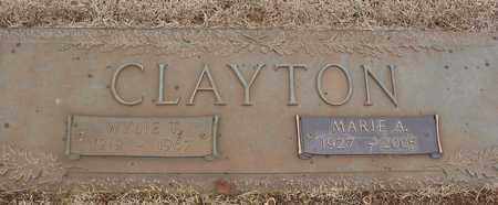 CLAYTON, MARIE A. - Lawrence County, Tennessee | MARIE A. CLAYTON - Tennessee Gravestone Photos