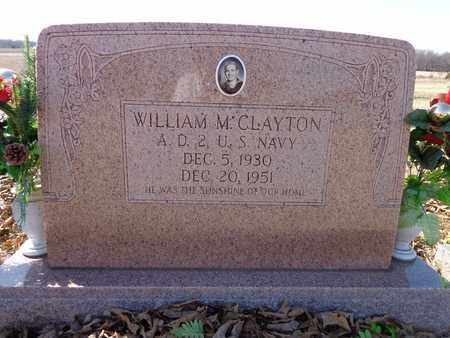 CLAYTON, WILLIAM M. - Lawrence County, Tennessee | WILLIAM M. CLAYTON - Tennessee Gravestone Photos
