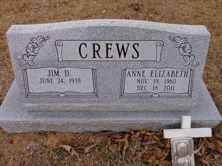 CREWS, ANNE ELIZABETH - Lawrence County, Tennessee | ANNE ELIZABETH CREWS - Tennessee Gravestone Photos