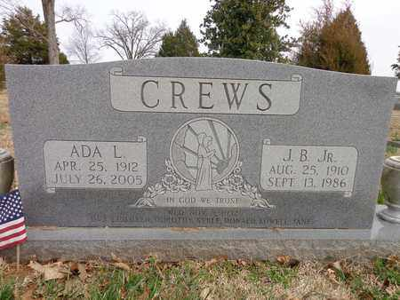 CREWS, ADA LUCILLE - Lawrence County, Tennessee | ADA LUCILLE CREWS - Tennessee Gravestone Photos