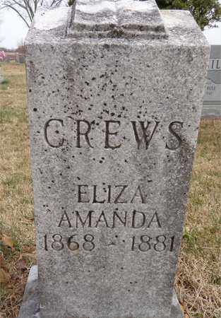 CREWS, AMANDA - Lawrence County, Tennessee | AMANDA CREWS - Tennessee Gravestone Photos