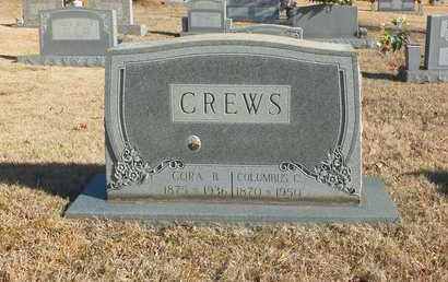 CREWS, COLUMBUS C. - Lawrence County, Tennessee | COLUMBUS C. CREWS - Tennessee Gravestone Photos