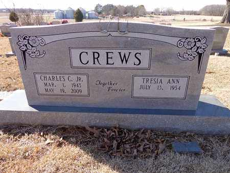 CREWS, CHARLES C. (JR) - Lawrence County, Tennessee | CHARLES C. (JR) CREWS - Tennessee Gravestone Photos