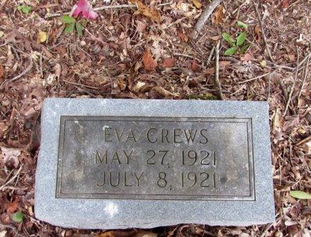 CREWS, EVA - Lawrence County, Tennessee | EVA CREWS - Tennessee Gravestone Photos