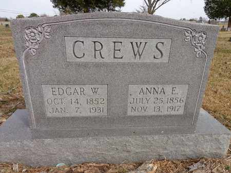 CREWS, EDGAR W. - Lawrence County, Tennessee | EDGAR W. CREWS - Tennessee Gravestone Photos