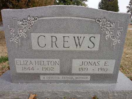 CREWS, JONAS E. - Lawrence County, Tennessee | JONAS E. CREWS - Tennessee Gravestone Photos