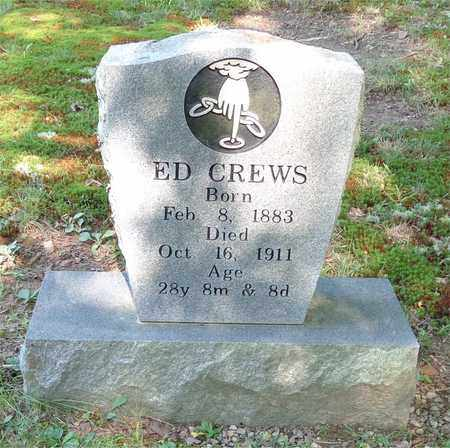 CREWS, ED - Lawrence County, Tennessee   ED CREWS - Tennessee Gravestone Photos