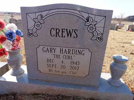 """CREWS, GARY HARDING """"THE CURL"""" - Lawrence County, Tennessee   GARY HARDING """"THE CURL"""" CREWS - Tennessee Gravestone Photos"""