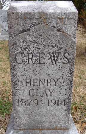 CREWS, HENRY CLAY - Lawrence County, Tennessee | HENRY CLAY CREWS - Tennessee Gravestone Photos