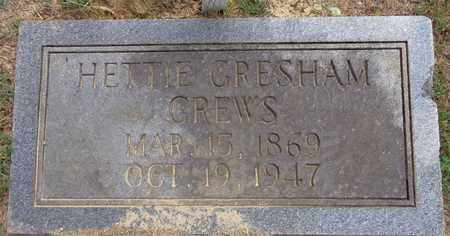 CREWS, HETTIE EVELINE - Lawrence County, Tennessee   HETTIE EVELINE CREWS - Tennessee Gravestone Photos