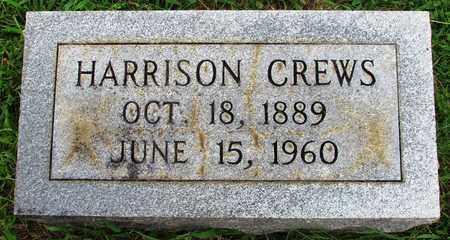CREWS, BENJAMIN HARRISON - Lawrence County, Tennessee | BENJAMIN HARRISON CREWS - Tennessee Gravestone Photos