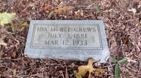 CREWS, IDA - Lawrence County, Tennessee | IDA CREWS - Tennessee Gravestone Photos