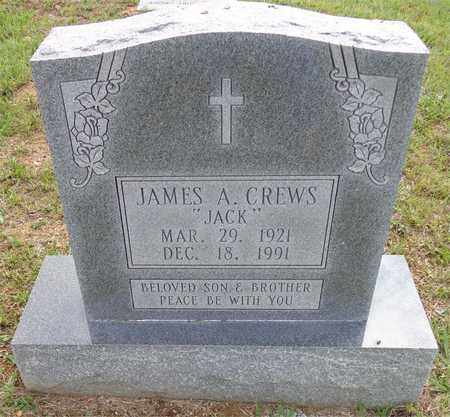 """CREWS, JAMES A. """"JACK"""" - Lawrence County, Tennessee 