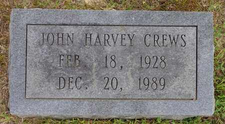 CREWS, JOHN HARVEY - Lawrence County, Tennessee | JOHN HARVEY CREWS - Tennessee Gravestone Photos