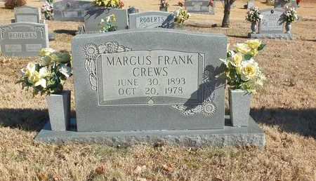CREWS, MARCUS  FRANK - Lawrence County, Tennessee | MARCUS  FRANK CREWS - Tennessee Gravestone Photos