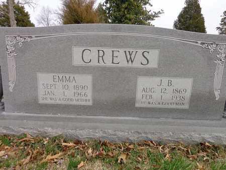 CREWS, JEREMIAH BENJAMIN - Lawrence County, Tennessee | JEREMIAH BENJAMIN CREWS - Tennessee Gravestone Photos