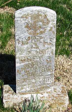 CREWS, MYRTLE - Lawrence County, Tennessee | MYRTLE CREWS - Tennessee Gravestone Photos