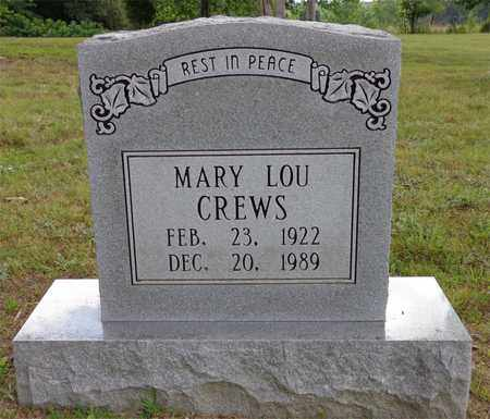 CREWS, MARY LOU - Lawrence County, Tennessee | MARY LOU CREWS - Tennessee Gravestone Photos