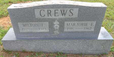 CREWS, MARJORIE E. - Lawrence County, Tennessee | MARJORIE E. CREWS - Tennessee Gravestone Photos