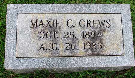CREWS, MAXIE C. - Lawrence County, Tennessee | MAXIE C. CREWS - Tennessee Gravestone Photos
