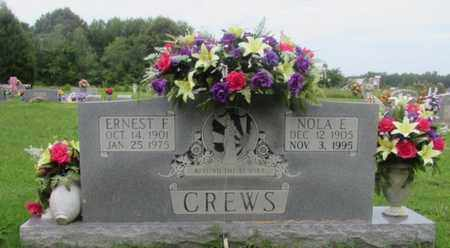 CREWS, NOLA E. - Lawrence County, Tennessee | NOLA E. CREWS - Tennessee Gravestone Photos