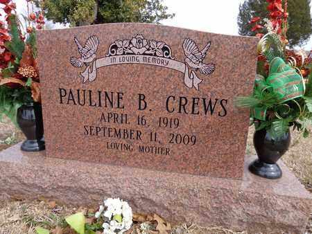 CREWS, PAULINE - Lawrence County, Tennessee | PAULINE CREWS - Tennessee Gravestone Photos