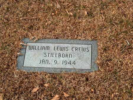 CREWS, WILLIAM LEWIS - Lawrence County, Tennessee | WILLIAM LEWIS CREWS - Tennessee Gravestone Photos