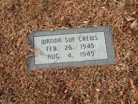 CREWS, WANDA SUE - Lawrence County, Tennessee   WANDA SUE CREWS - Tennessee Gravestone Photos