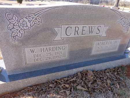 CREWS, W. HARDING - Lawrence County, Tennessee   W. HARDING CREWS - Tennessee Gravestone Photos