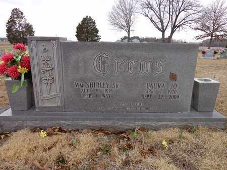 CREWS, LAURA JO - Lawrence County, Tennessee | LAURA JO CREWS - Tennessee Gravestone Photos