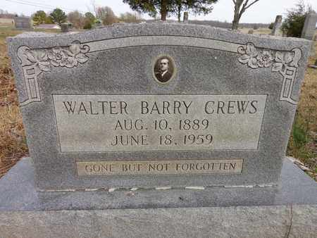 CREWS, WALTER BARRY - Lawrence County, Tennessee   WALTER BARRY CREWS - Tennessee Gravestone Photos