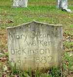 DICKINSON, MARY S. - Lawrence County, Tennessee | MARY S. DICKINSON - Tennessee Gravestone Photos