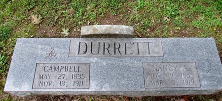DURRETT, NANCY A. - Lawrence County, Tennessee | NANCY A. DURRETT - Tennessee Gravestone Photos