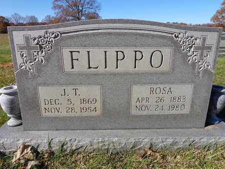 FLIPPO, J T - Lawrence County, Tennessee | J T FLIPPO - Tennessee Gravestone Photos