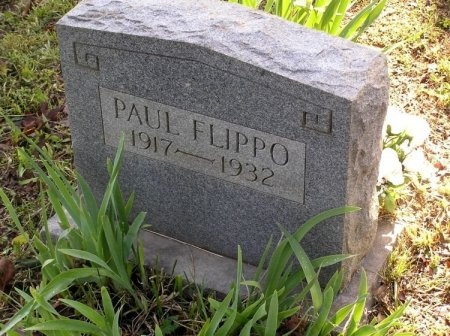 FLIPPO, PAUL - Lawrence County, Tennessee | PAUL FLIPPO - Tennessee Gravestone Photos