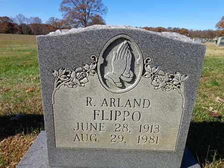FLIPPO, R ARLAND - Lawrence County, Tennessee | R ARLAND FLIPPO - Tennessee Gravestone Photos